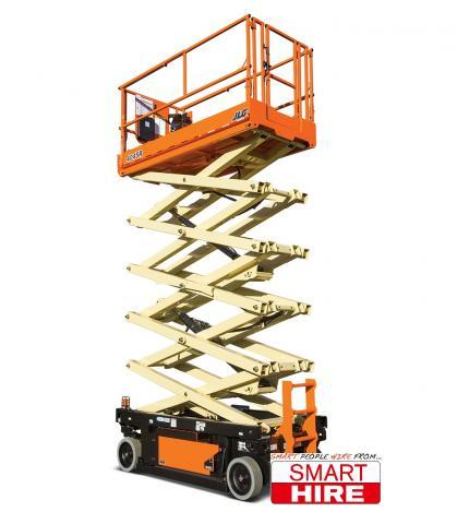 Scissor Lift 12m 39ft Jlg 4045r Carnegie Equipment Hire